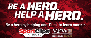 Sport Clips Haircuts of Glendale​ Help a Hero Campaign