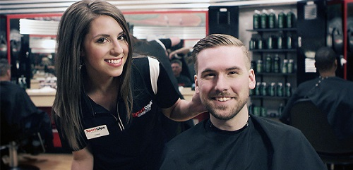 Sport Clips Haircuts of Glendale​ stylist hair cut